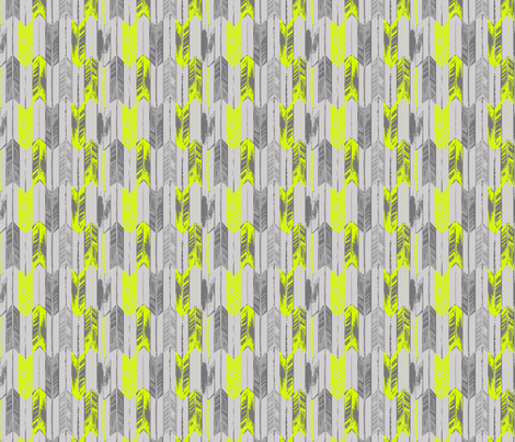 ARROW_CITRON fabric by pattern_state on Spoonflower - custom fabric