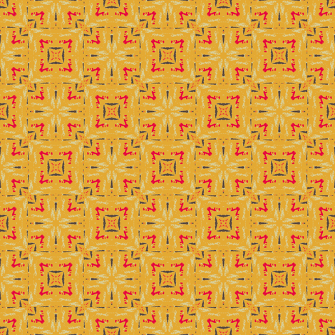 Retro Linoleum fabric by bargello_stripes on Spoonflower - custom fabric
