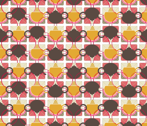 retrokitchen1_f fabric by aundi on Spoonflower - custom fabric