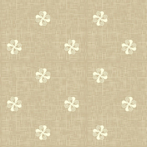 Floral vintage rustic pattern