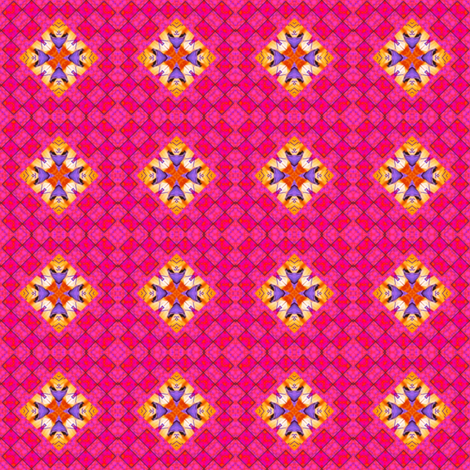 Peter's Painted Petals 19 fabric by dovetail_designs on Spoonflower - custom fabric