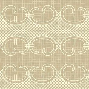 Ornate vintage seamless pattern