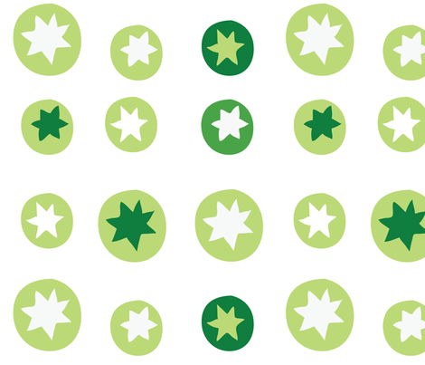 mini_pattern_green-01 fabric by katja_saburova on Spoonflower - custom fabric