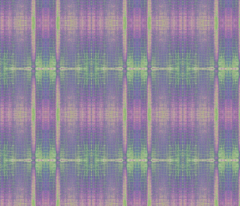 Purple and green plaid fabric by greennote on Spoonflower - custom fabric