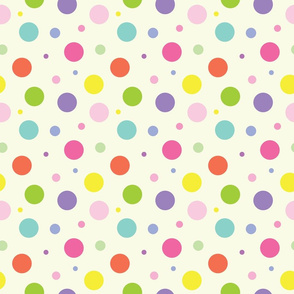 Multi Color Polka Dots