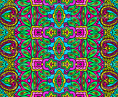 Psychedelic Mind Swirl