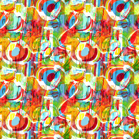 Circus Candy fabric by joanmclemore on Spoonflower - custom fabric