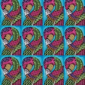 Flamingo Doodle