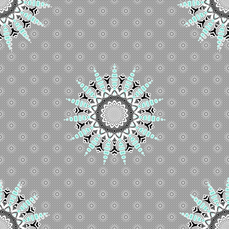 Star Lace fabric by joanmclemore on Spoonflower - custom fabric