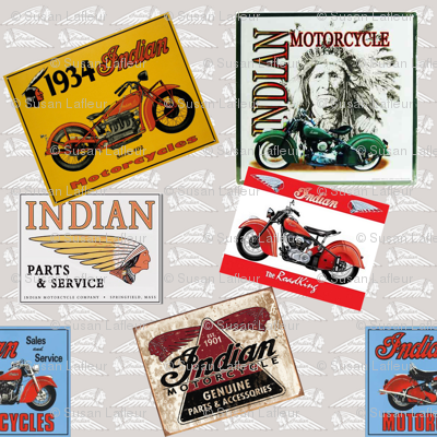 An American Classic-Indian Motorcycles