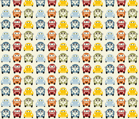 fluffies fabric by dogsndubs on Spoonflower - custom fabric