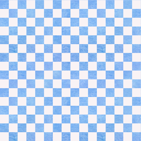 Cornflower Blue Check
