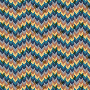 Chevrons In Repeat: Small
