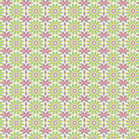 Floral fabric by alisontauber on Spoonflower - custom fabric