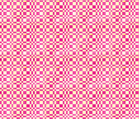 Raspberry Lemon Plaid fabric by countrygarden on Spoonflower - custom fabric