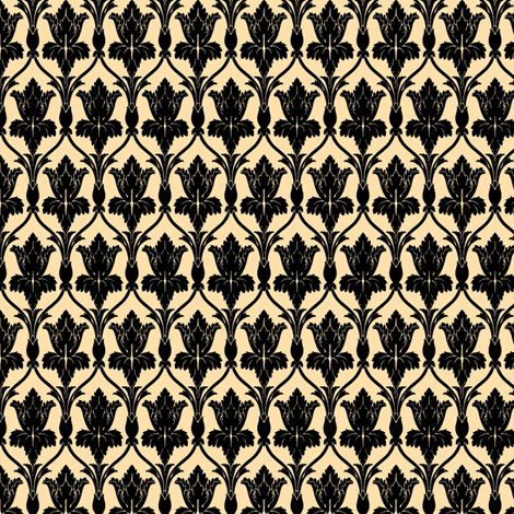 sherlock wallpaper fabric by dexlarprice on Spoonflower - custom fabric