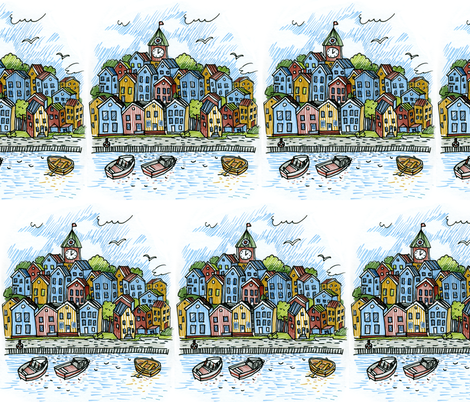 bergen fabric by katja_saburova on Spoonflower - custom fabric