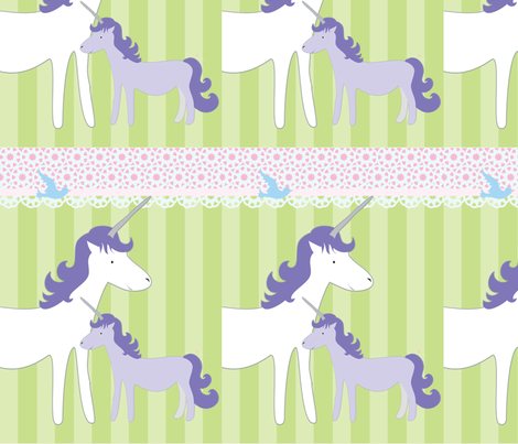 Unicorn Treat Bags fabric by wendyg on Spoonflower - custom fabric