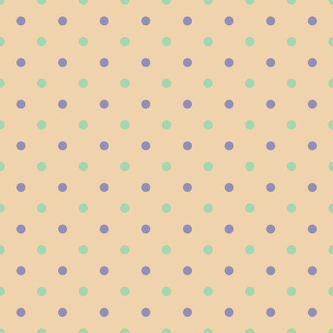 ABC Polka Dot Coordinate fabric by cksstudio80 on Spoonflower - custom fabric