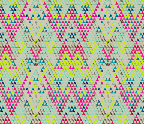 TRIANGLE POP fabric by pattern_state on Spoonflower - custom fabric