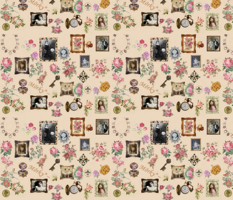 Antique Rose fabric by mörky_muffin on Spoonflower - custom fabric