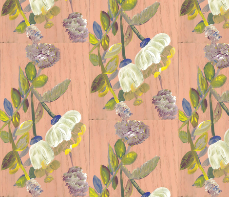 painting fabric by clarie86 on Spoonflower - custom fabric