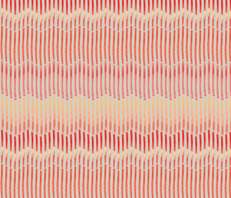 Granada_Chevron_crimson_stone_field fabric by bee&lotus on Spoonflower - custom fabric