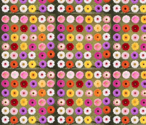 fleurs 1 fabric by manureva on Spoonflower - custom fabric