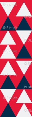 Blue & Red Triangles