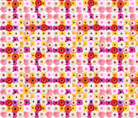Fleurs 2 fabric by manureva on Spoonflower - custom fabric