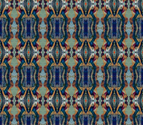 Lost in Thought fabric by anniedeb on Spoonflower - custom fabric