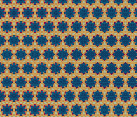 Carson Star fabric by anniedeb on Spoonflower - custom fabric