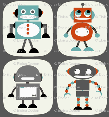 Robots in Grey