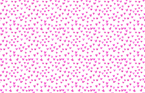 cestlaviv_pink hearts new2b MEDIUM fabric by cest_la_viv on Spoonflower - custom fabric