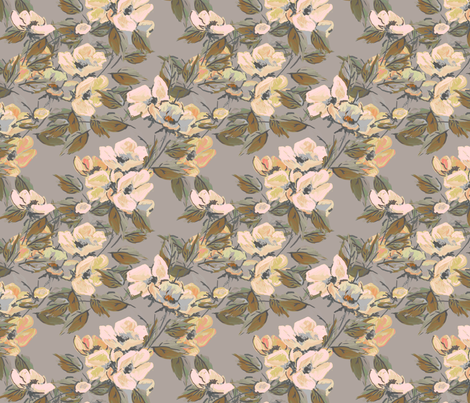 Buckingham Rose fabric by joanmclemore on Spoonflower - custom fabric