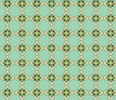 Deco Doily fabric by holly_helgeson on Spoonflower - custom fabric