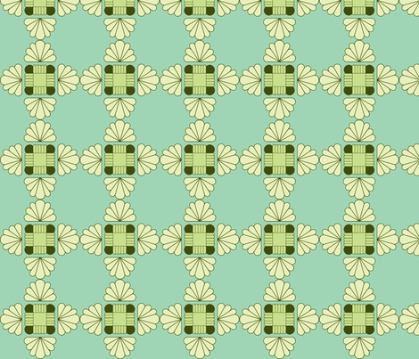 Deco Doily - larger scale fabric by holly_helgeson on Spoonflower - custom fabric