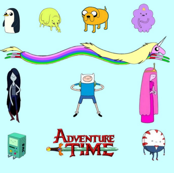 Adventure Time blue