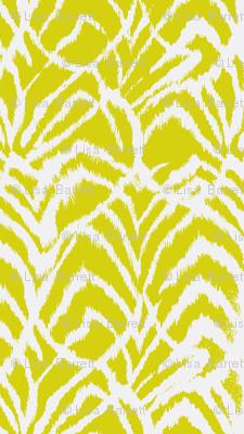Wild Ikat Lemongrass