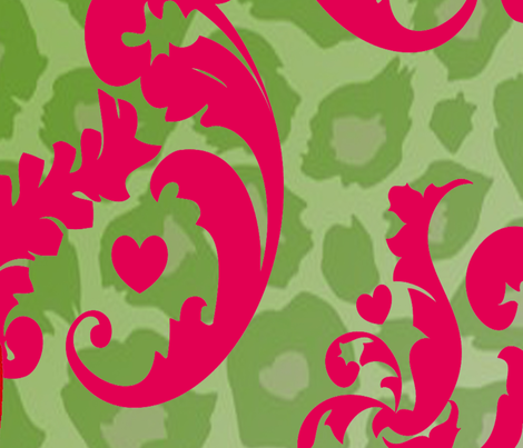 royal Cougar fabric by racheldennis-butzin on Spoonflower - custom fabric