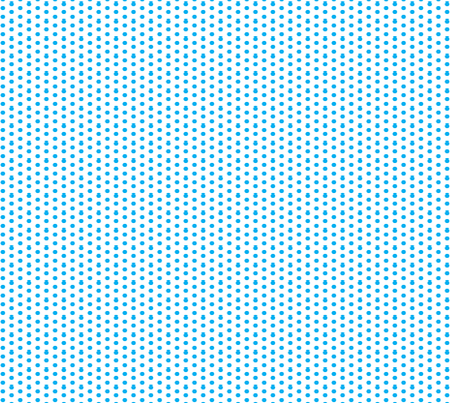 Cyan Ditsy Polka Dot fabric by melodiemw on Spoonflower - custom fabric