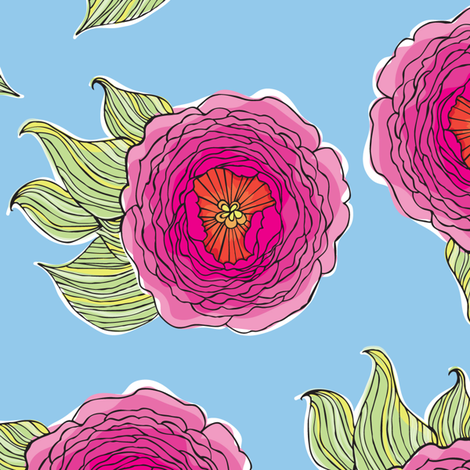 peonyrep fabric by coty on Spoonflower - custom fabric
