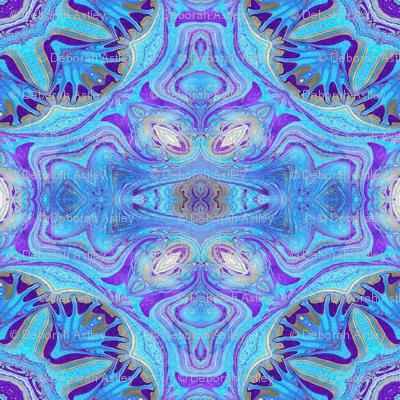 Marble Blue Starflowers