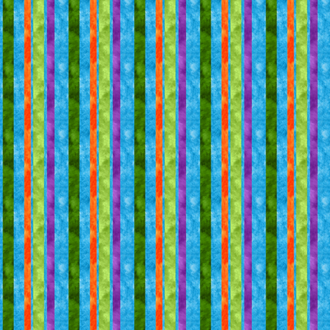mod watercolor stripes fabric by vo_aka_virginiao on Spoonflower - custom fabric