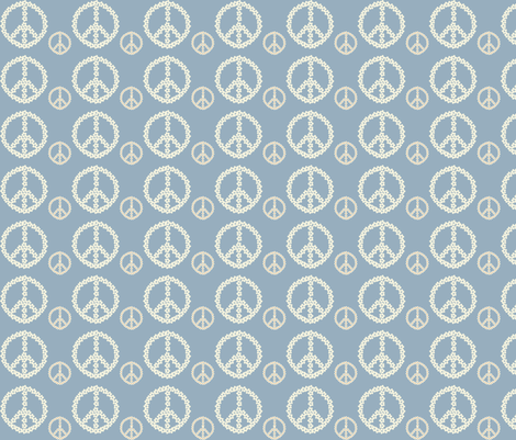 peace fabric by dogsndubs on Spoonflower - custom fabric