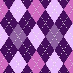 Purple Argyle (Rich)