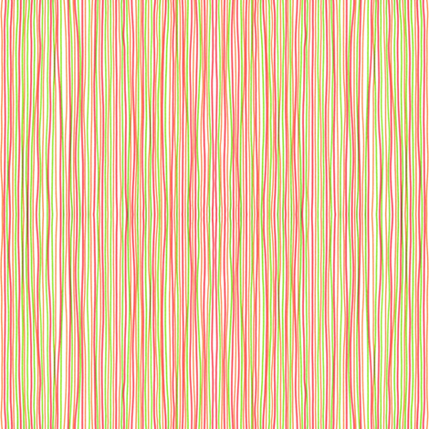 Stripes - red, green, orange fabric by greennote on Spoonflower - custom fabric