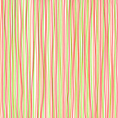 Stripes - red, green, orange