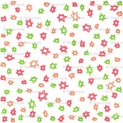 Ditsy stars