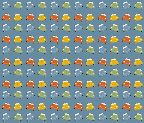 Beetles fabric by dogsndubs on Spoonflower - custom fabric